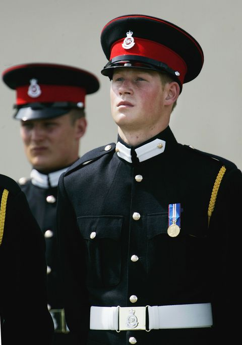 Prince Harry, Sandhurst