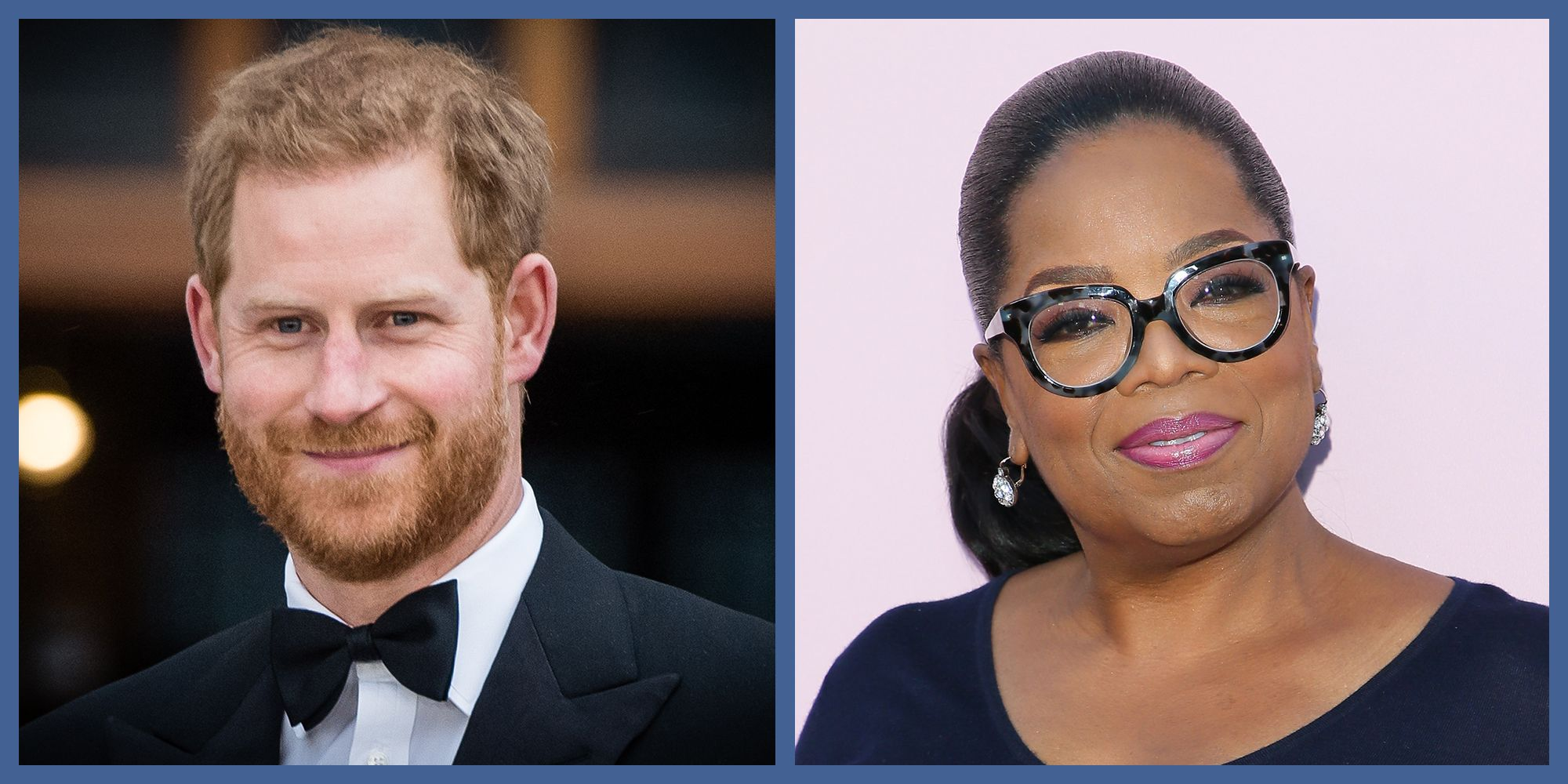 Prince Harry Is Teaming Up With Oprah on a Documentary Series About Mental Health