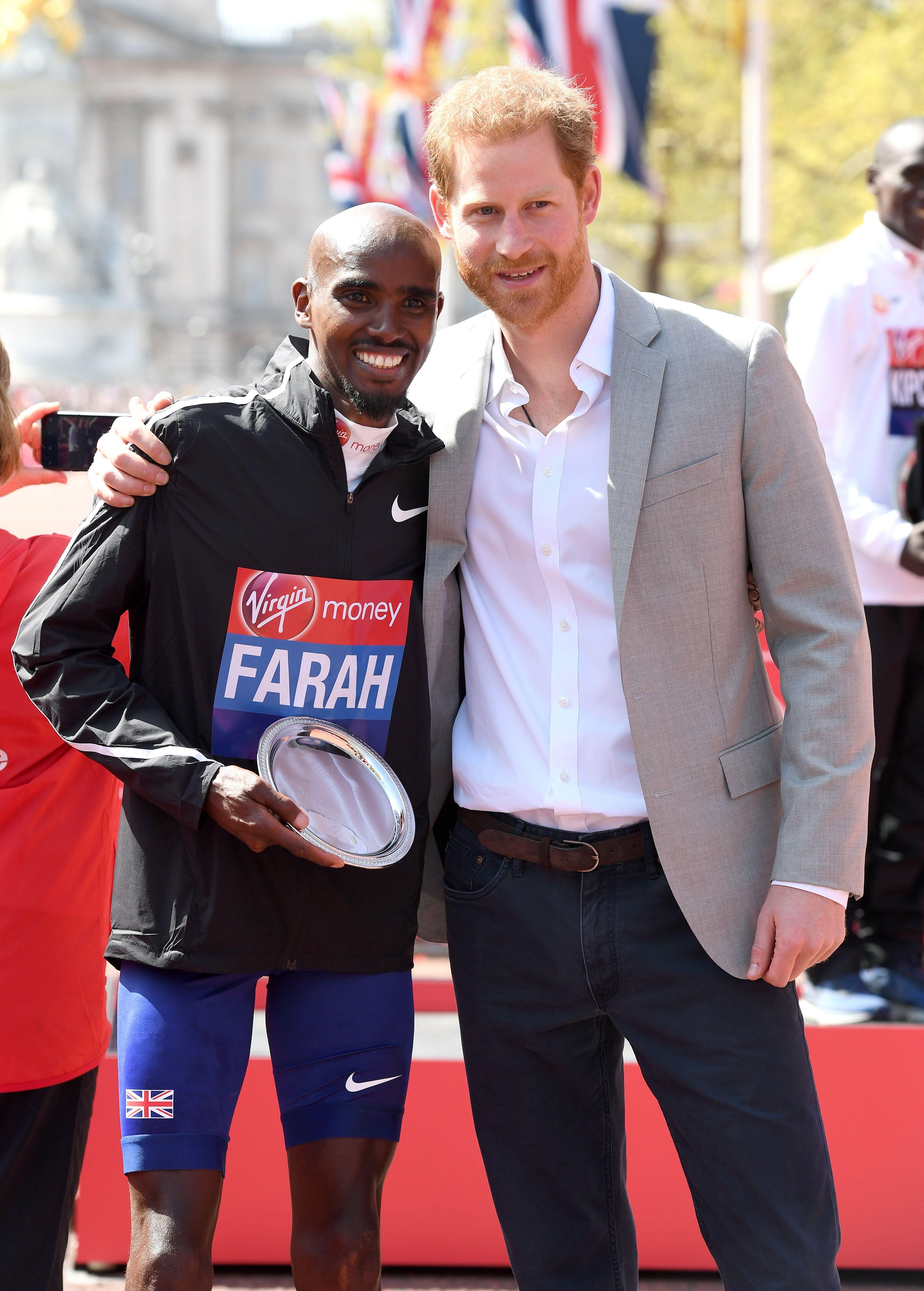 Will Prince Harry still be at the London Marathon finish line?