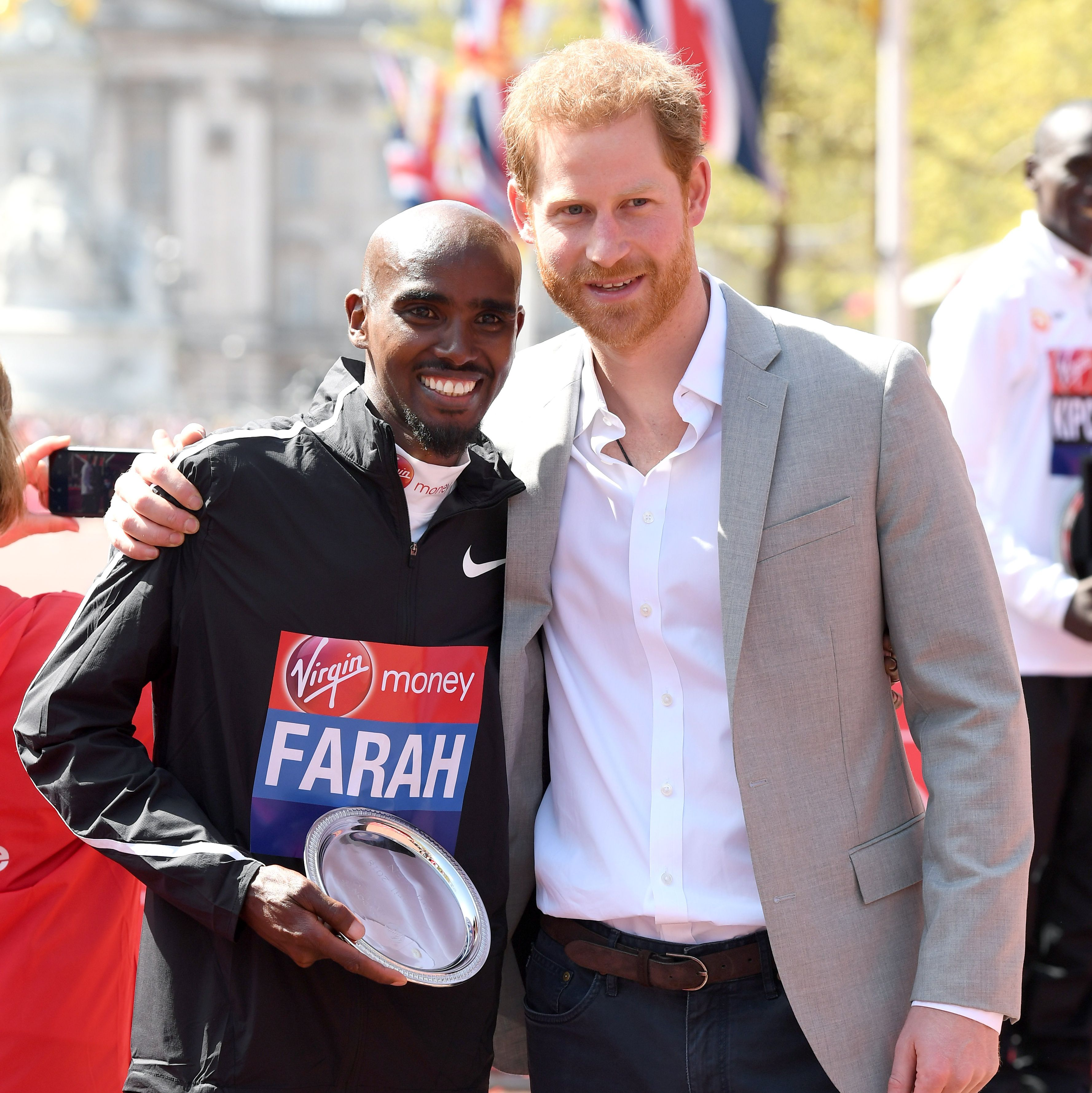 Prince Harry shares a message with this year's London Marathon runners