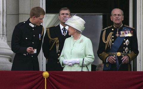 60th Anniversary Of End Of WWII - Buckingham Palace Flypast