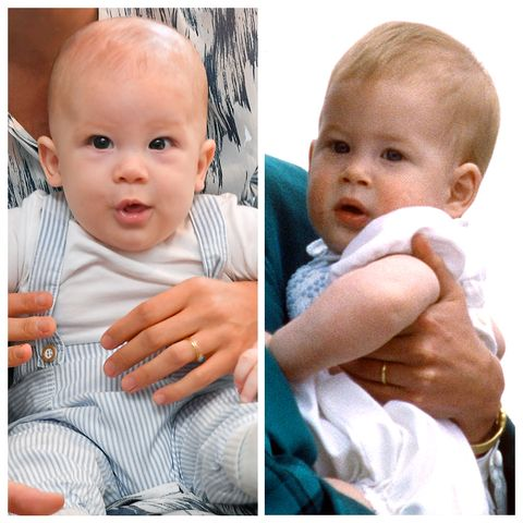 people are freaking out over how much baby archie looks like prince harry baby archie looks like prince harry