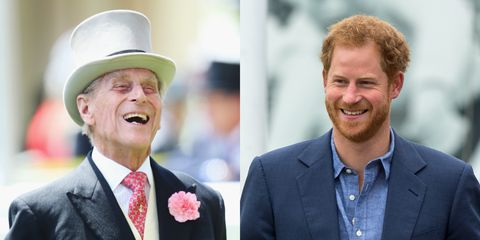 Prince Harry Looks Just Like Prince Philip in This Throwback Photo from 1957