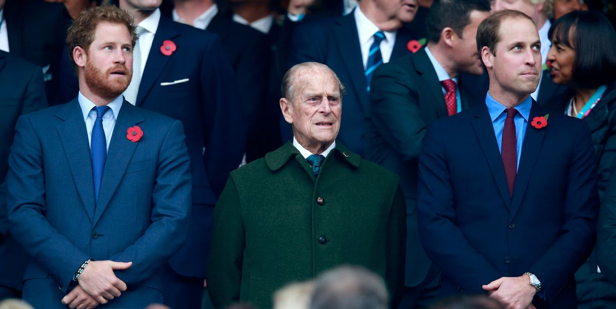 Princes William And Harry Will Not Walk Side by Side at Prince Philip's Funeral
