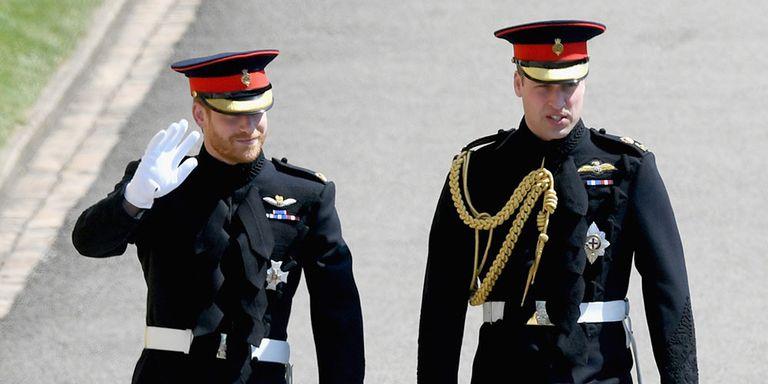 Prince Harry Royal Wedding Military Uniform