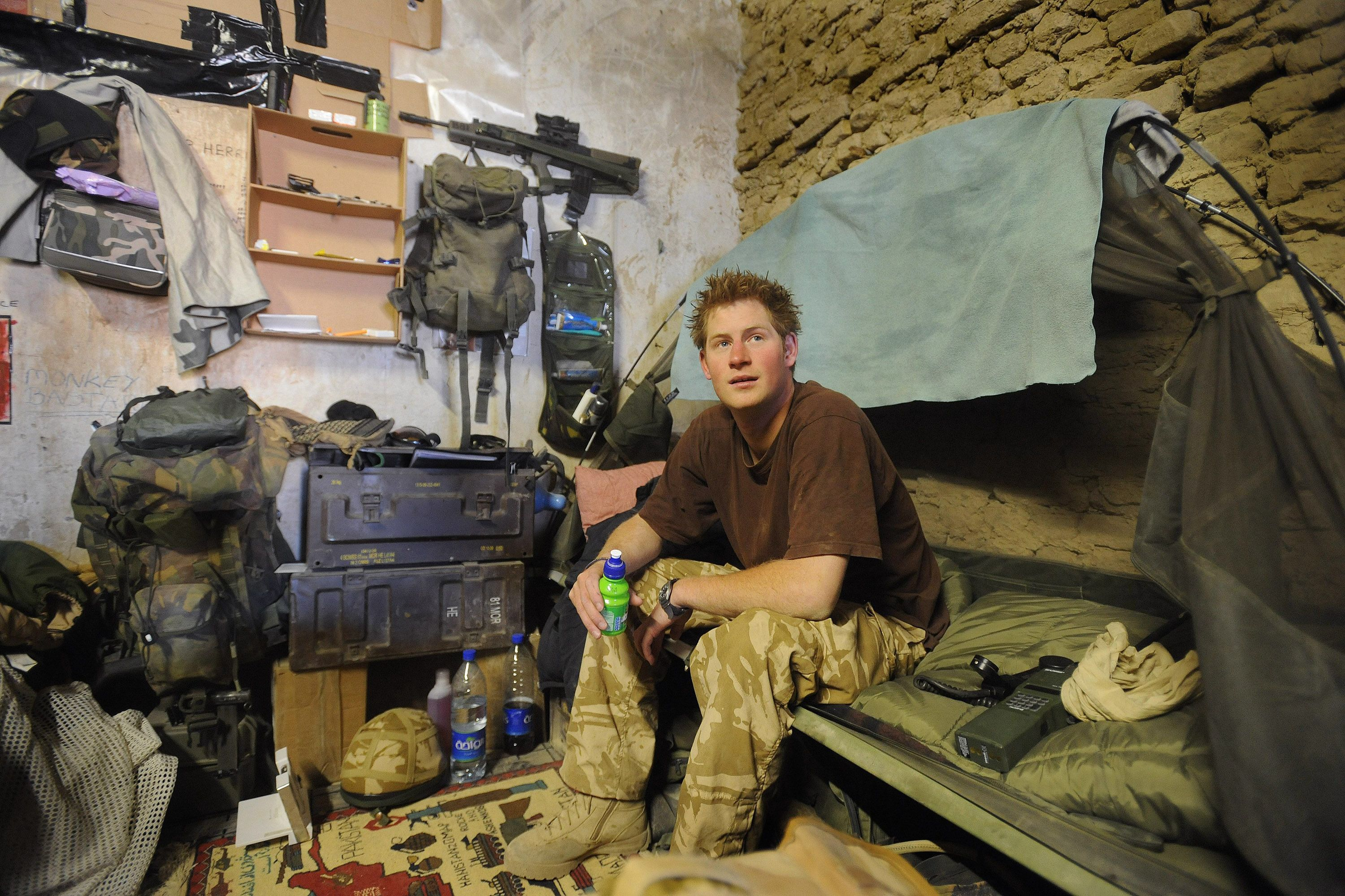 How Prince Harry Served in Afghanistan in Secret—Despite the Notoriously Cutthroat U.K. Press
