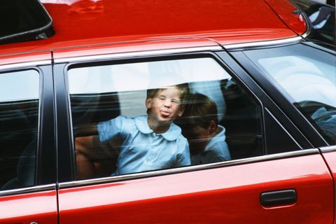 prince harry sticking out tongue 1988
