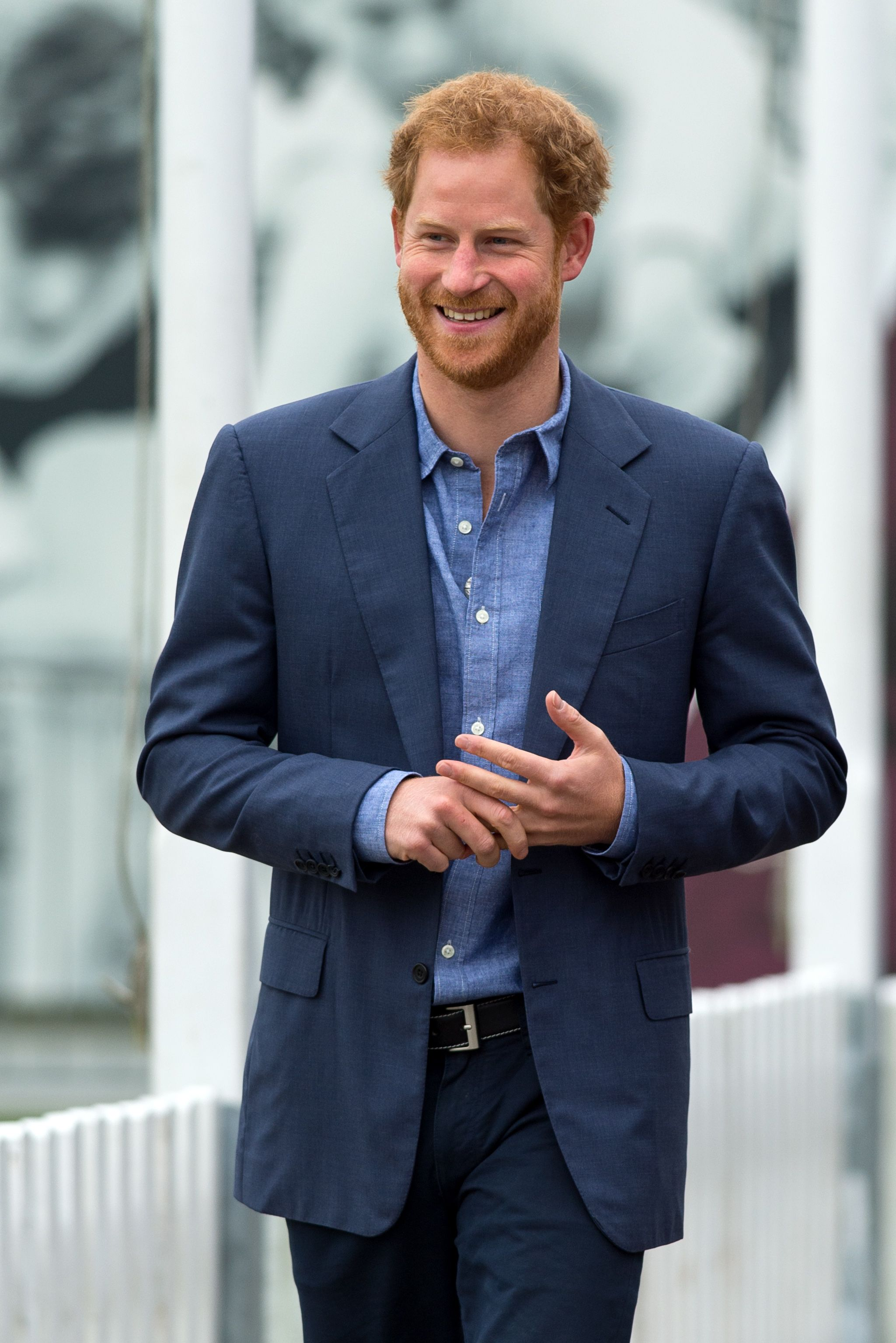 """Prince Harry, Unbothered Legend, Is """"Not Stressed or Worried"""" After Stepping Back as a Senior Royal"""
