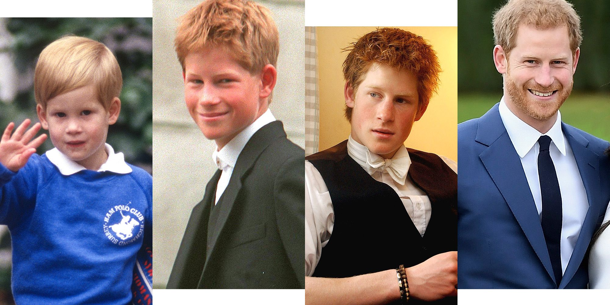 prince harry young old