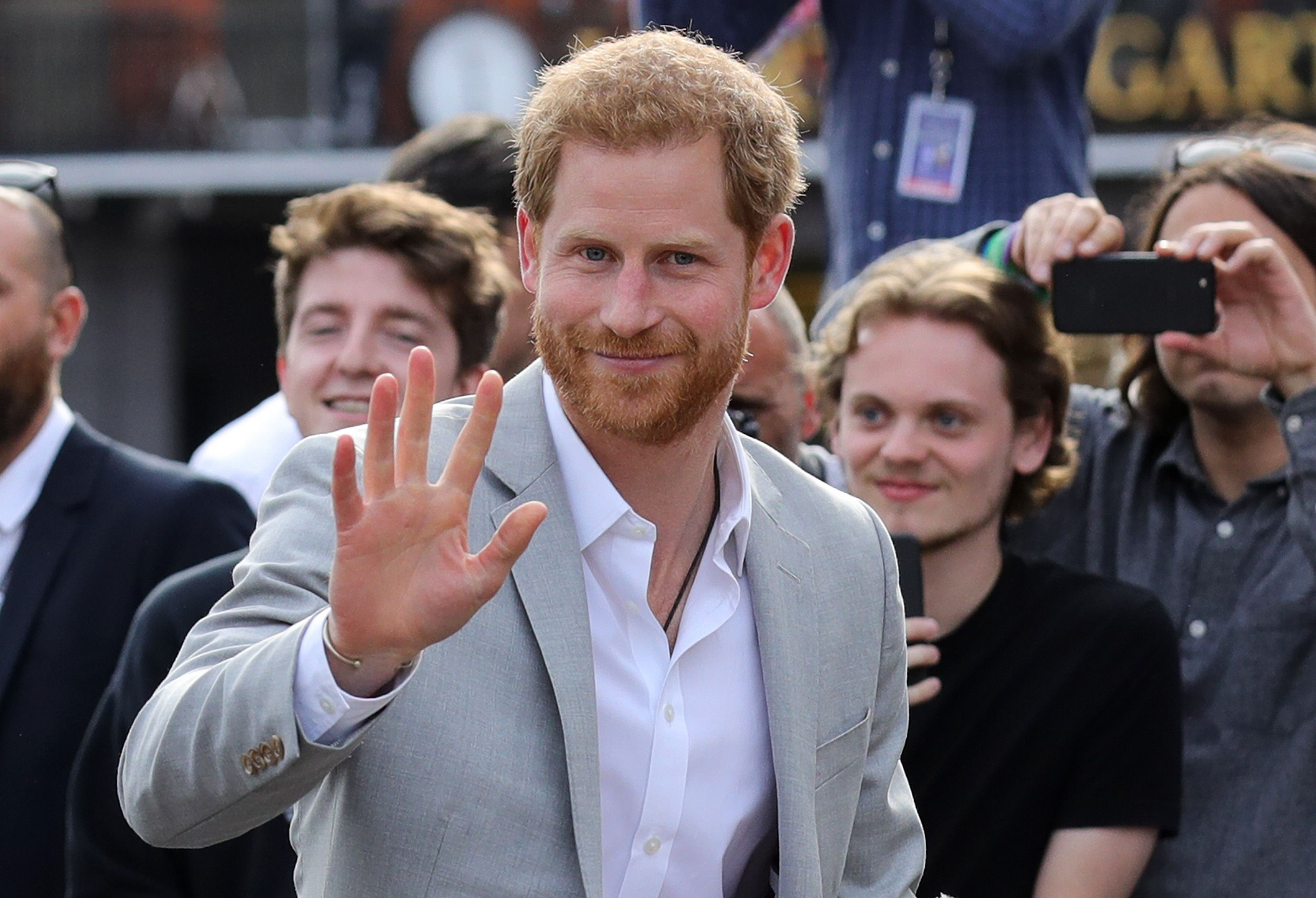 Prince Harry Just Gave the Most Adorable Baby Archie Update
