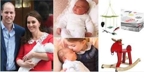 Prince Louis / Ikea nursery items