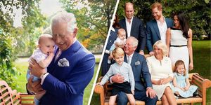 The outtakes of Prince Louis from Prince Charles' 70th birthday portraits are even cuter