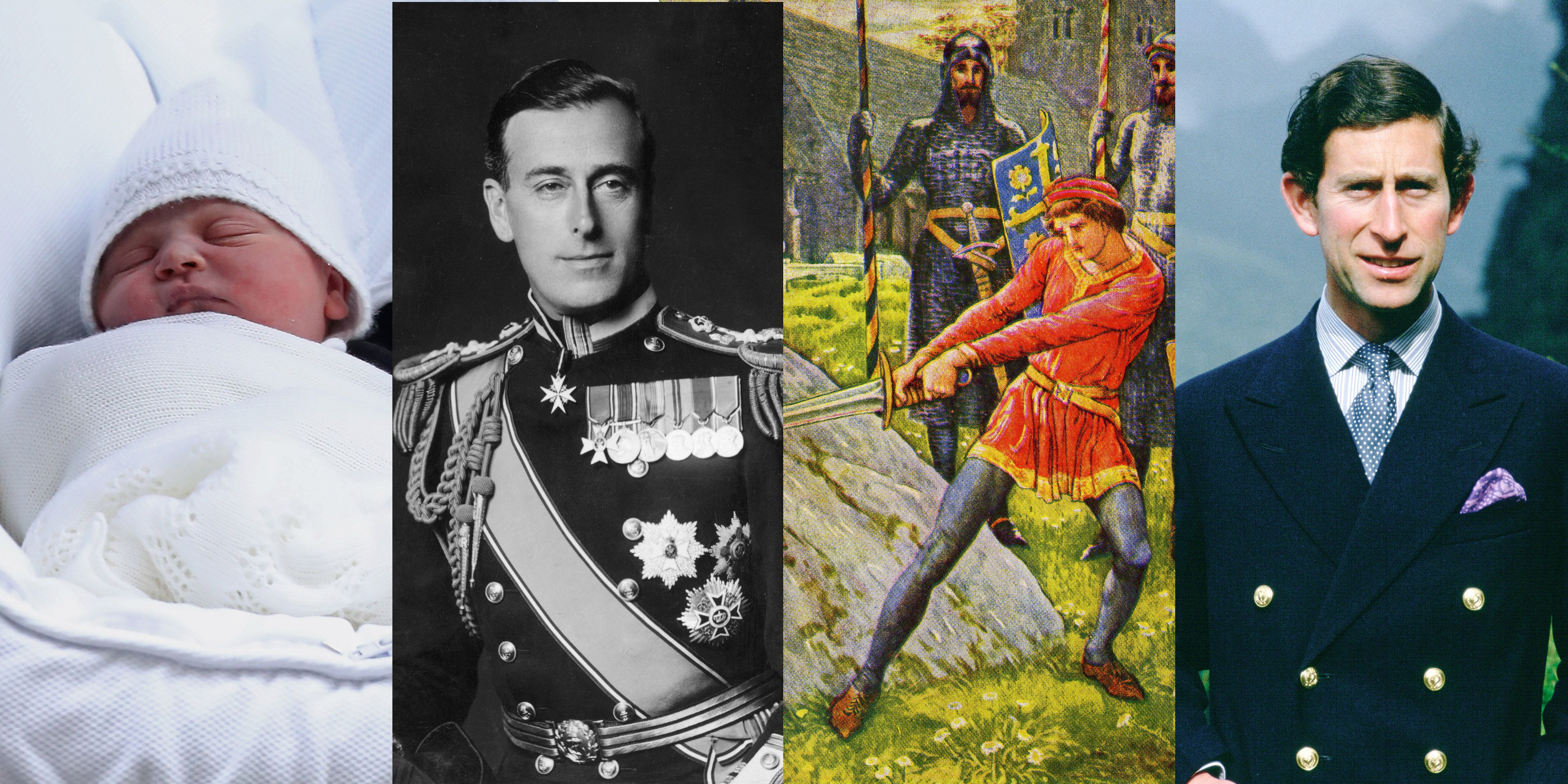 Prince Louis Arthur Charles Name Meaning