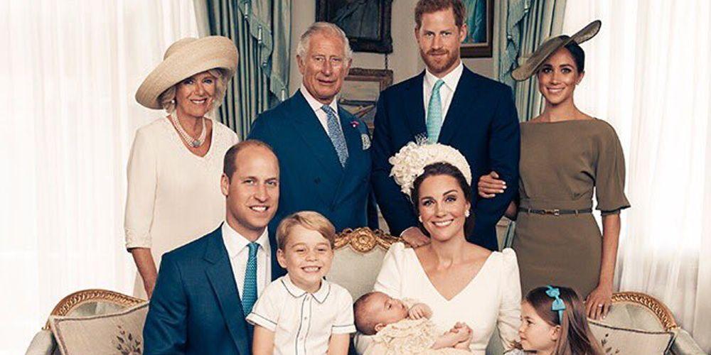 prince louis christening photos