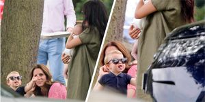 Prince Louis pulling funny faces at his aunt Meghan Markle is the best thing you'll see today