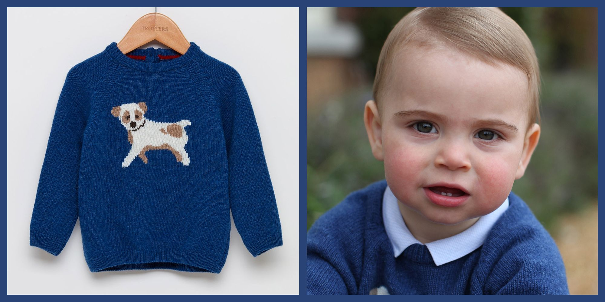 Prince Louis's Adorable Puppy Sweater Is Still Available Online