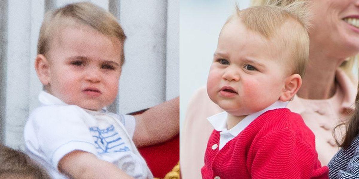 Prince Louis Dethrones Prince George As Cutest Royal Grump