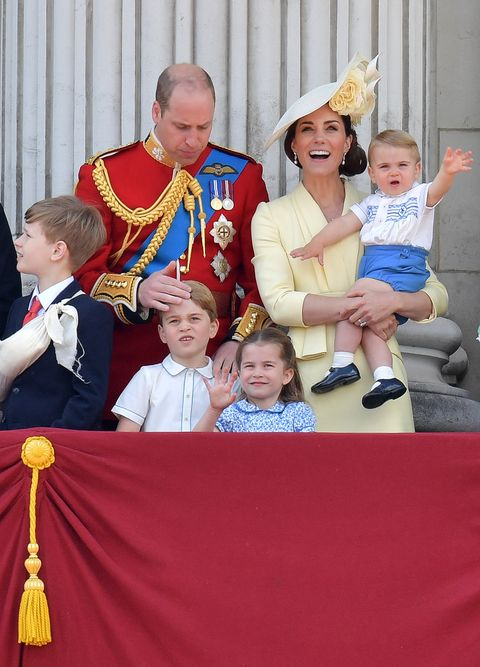 Prince Louis borrowed Prince Harry's outfit for his first royal event