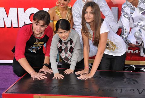Michael Jackson Immortalized At Grauman's Chinese Theatre