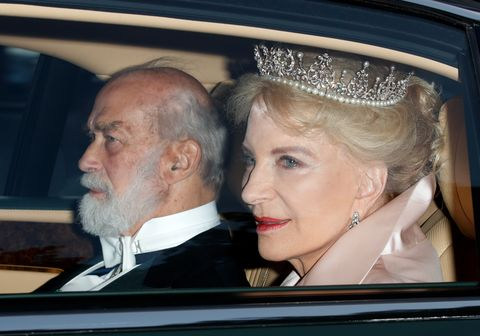 prince and princess michael of kent U.S. President Trump's State Visit To UK - Day One