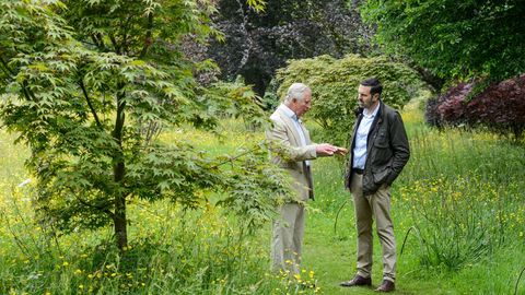 Prince Charles, The Prince of Wales, to appear on BBCTwo's Gardeners' World