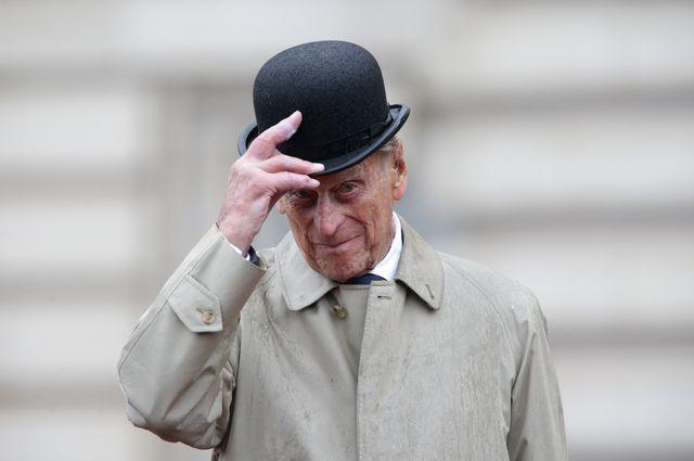 the duke of edinburgh attends the captain general's parade