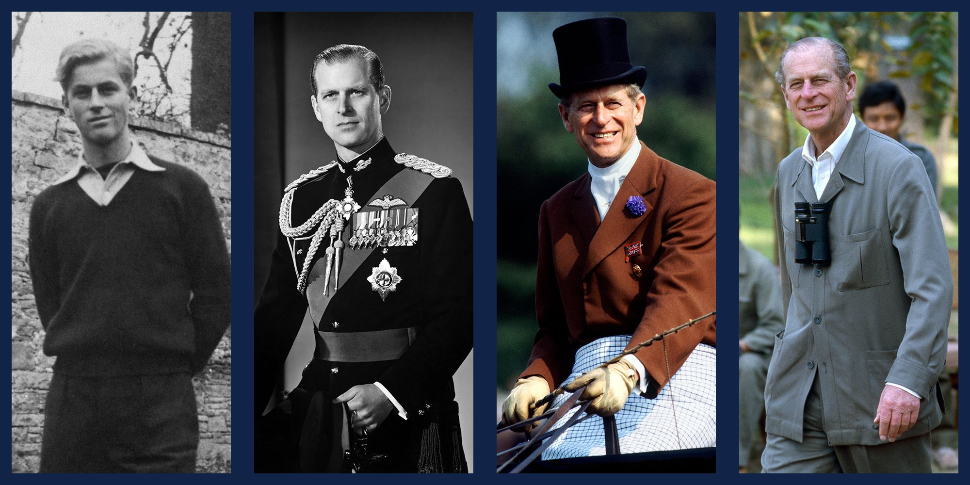 40+ Photos of Prince Philip's Life - Best Pictures of the Duke of Edinburgh