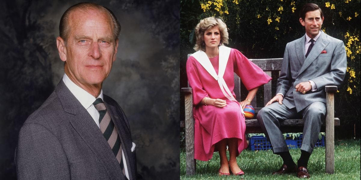 Prince Philip Reportedly Took Princess Diana's Side in Her Divorce from Prince Charles