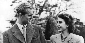 Prince Philip, Princess Elizabeth