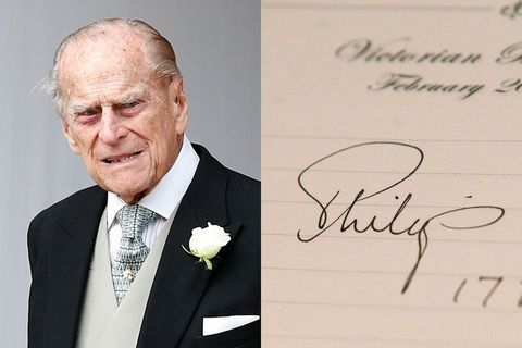 prince philip signature