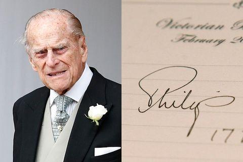 prince philip signature