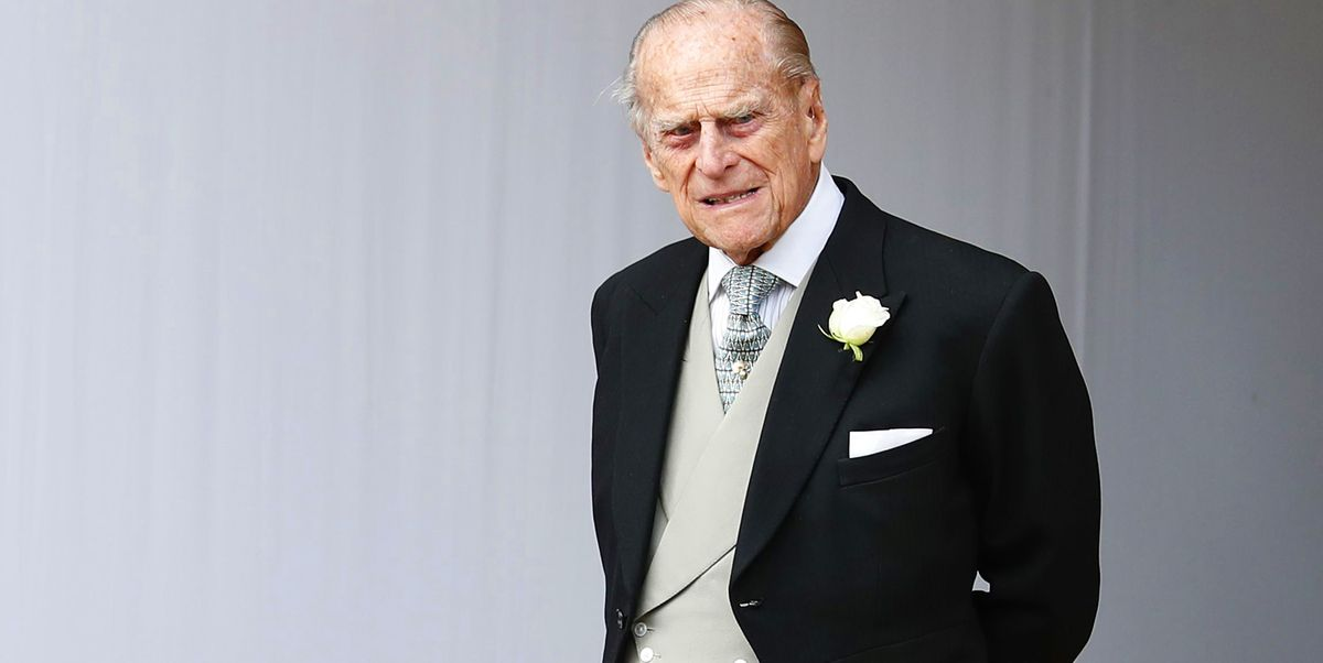 The Duke of Edinburgh isn't stepping out much these days.