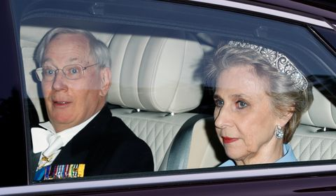 Prince Richard, Duke of Gloucester and Birgitte, Duchess of GloucesterU.S. President Trump's State Visit To UK - Day One
