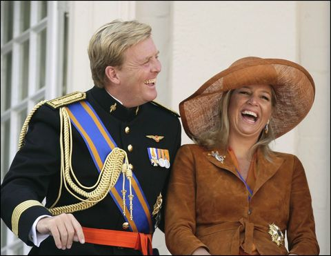 the dutch royal family at the opening of the parliament's ceremony in the hague, netherlands on september 20, 2005