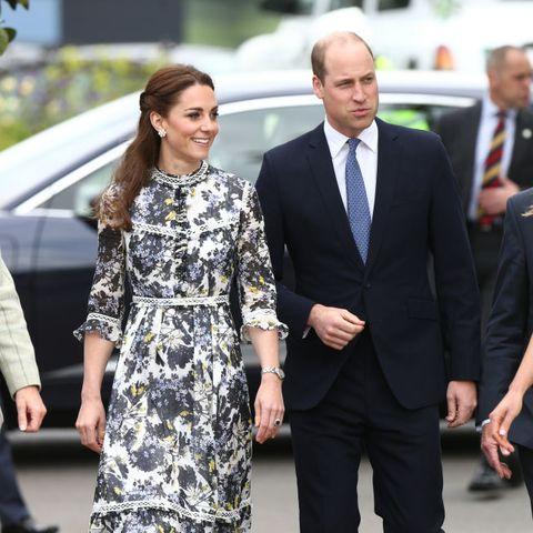 kate middleton erdem prince william RHS Chelsea Flower Show 2019 - Press Day