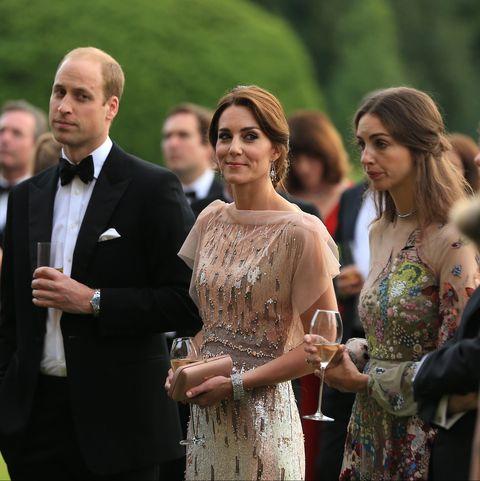 Prince William, Kate Middleton, Rose Hanbury