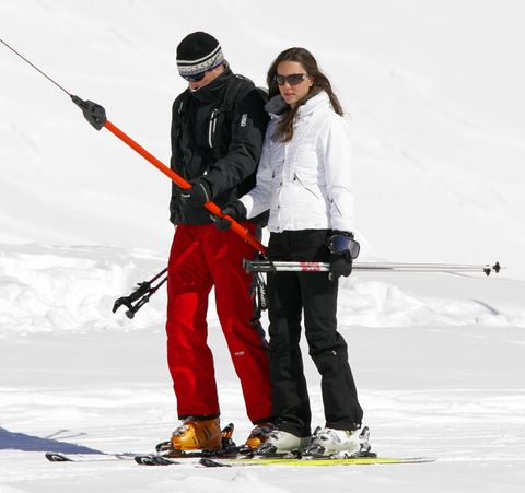 Prince William and Kate Middleton on a Skiing Holiday in Klosters