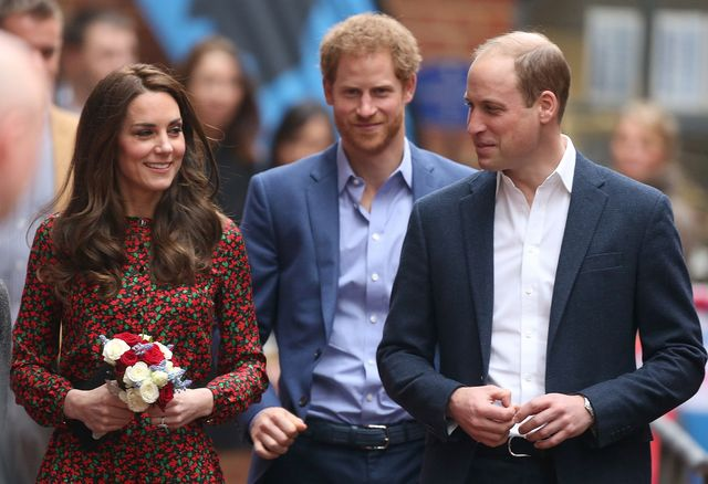 prince william prince harry kate middleton relationship fall out