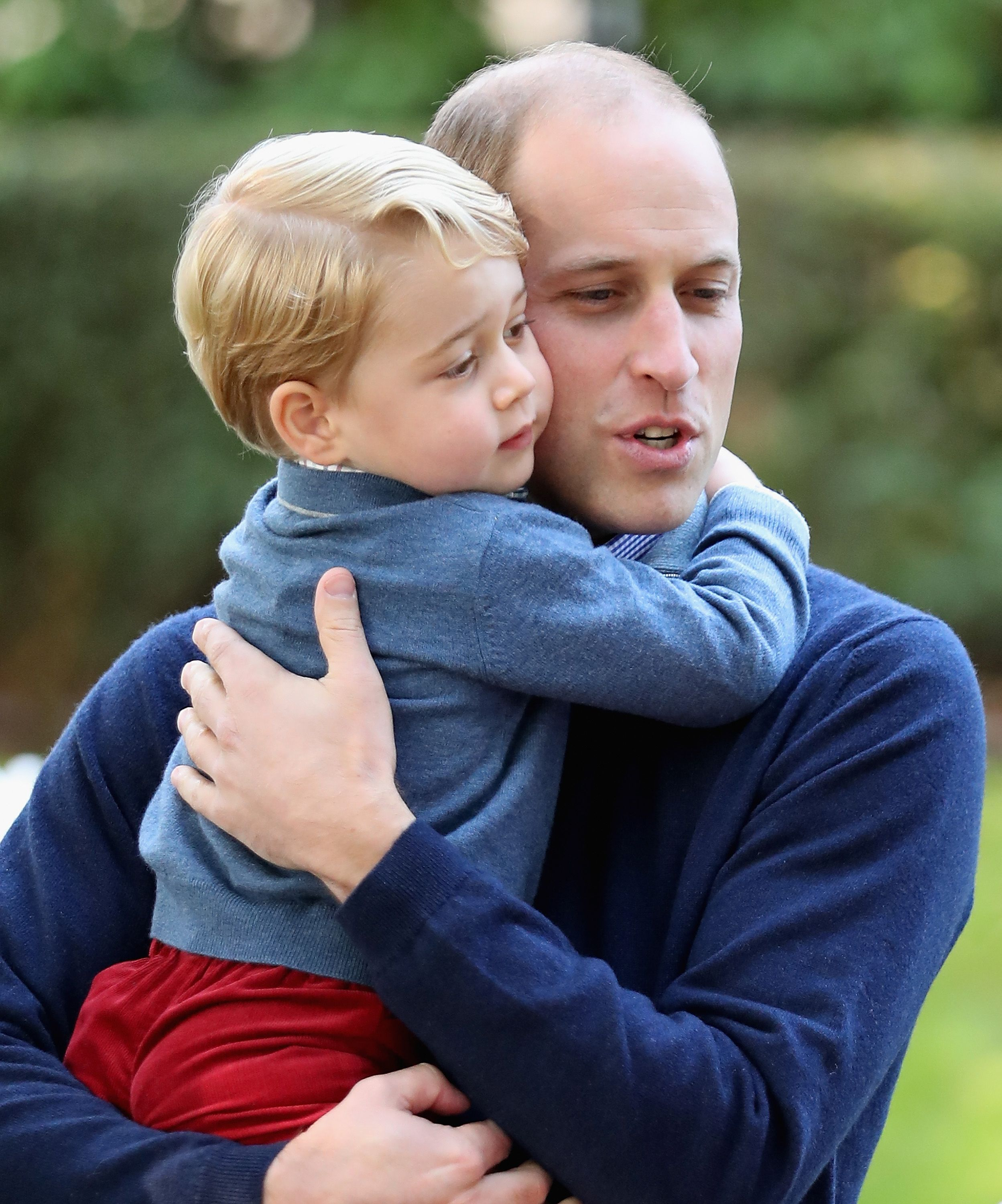 Prince William on the one thing that gets Prince George 'confused' and 'annoyed'