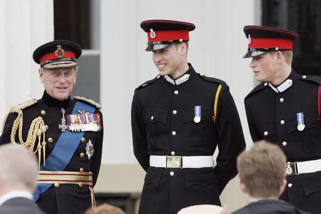 prince harry commissioned as second lieutenant at sandhurst
