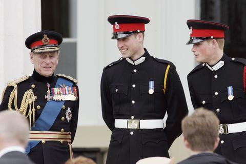 El príncipe Harry fue nombrado segundo teniente en Sandhurst.