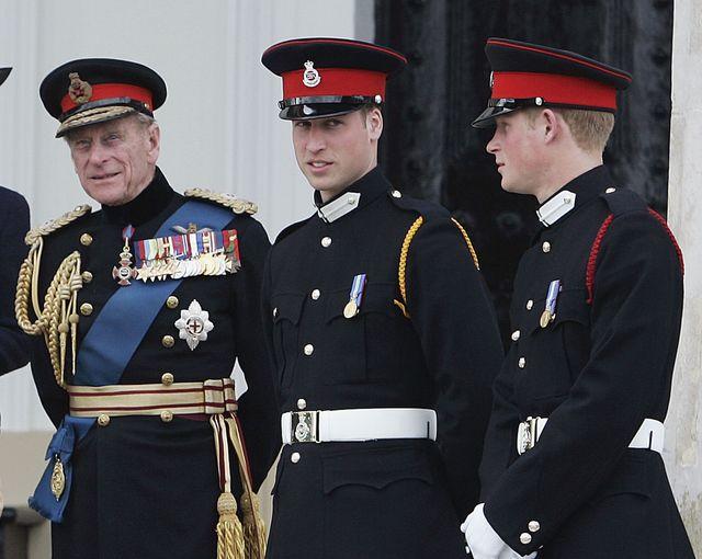 ヘンリー王子 ウィリアム王子 フィリップ殿下 ロイヤルファミリー ドキュメンタリー