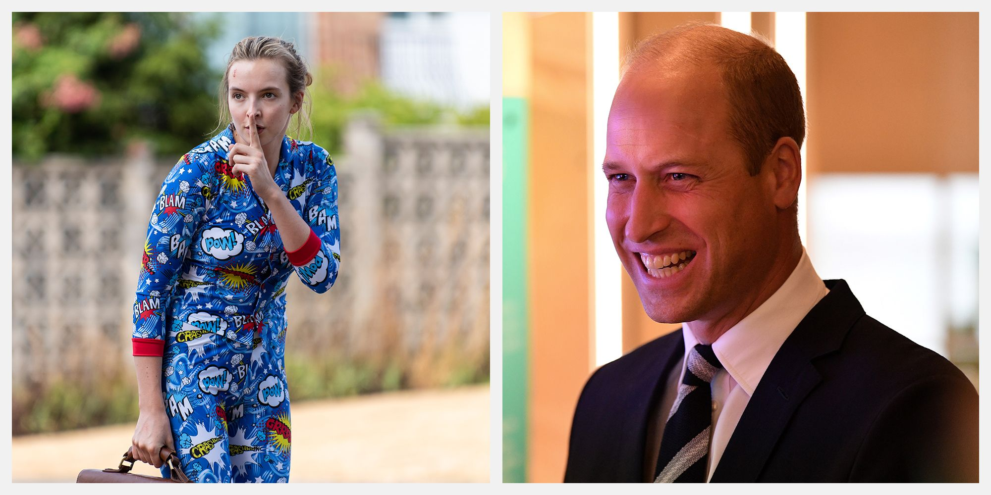 Prince William Got a Pair of PJs Worn by Killing Eve's Villanelle