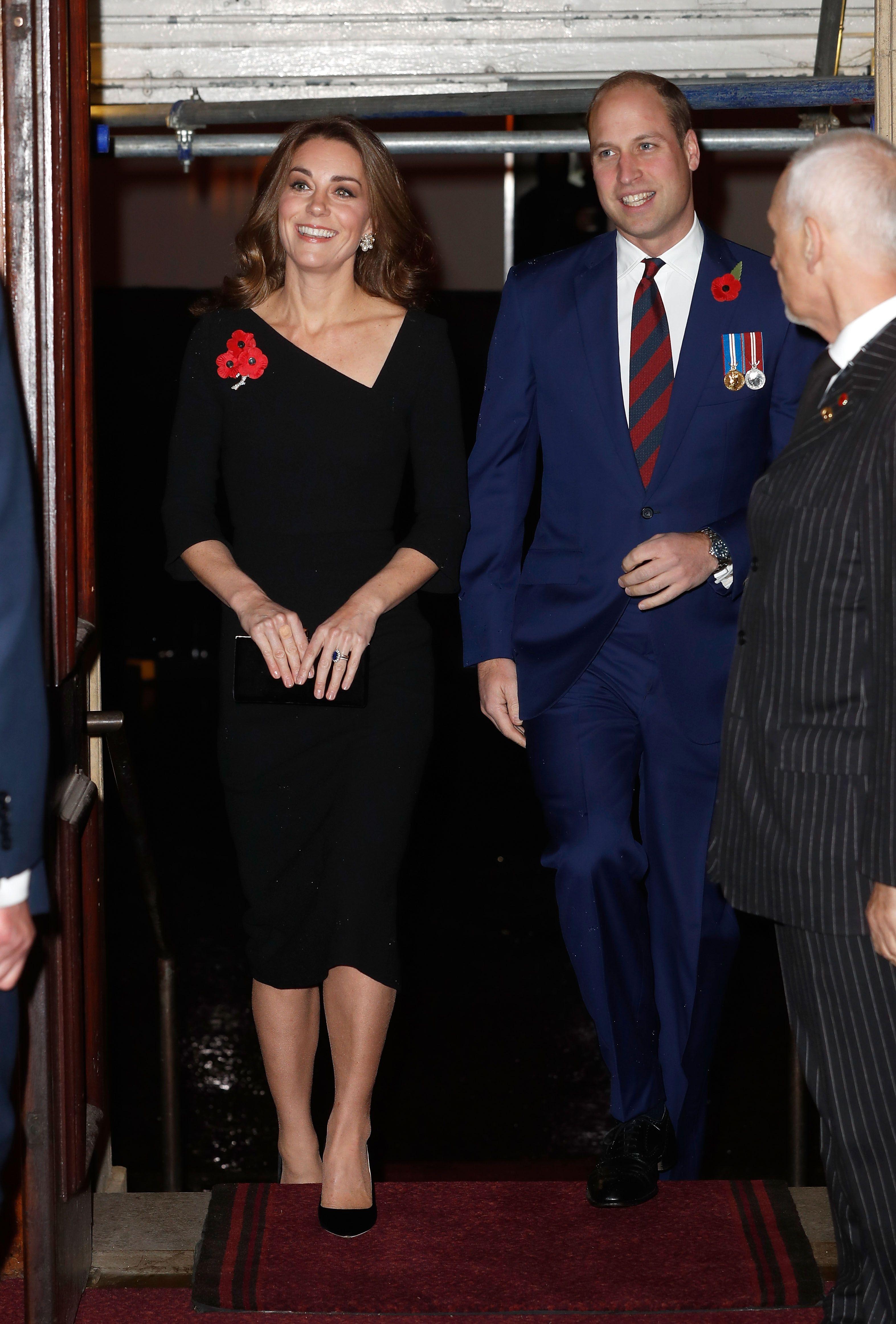 Znalezione obrazy dla zapytania festival of remembrance duchess kate 2018