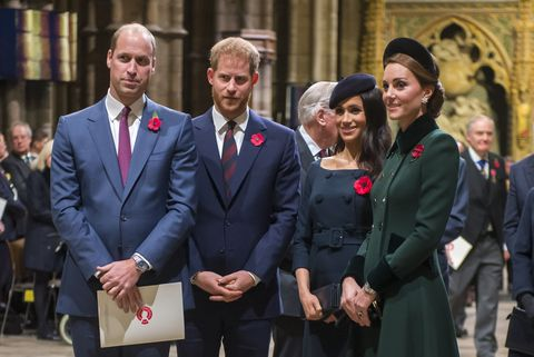 The Queen Attends A Service At Westminster Abbey Marking Centenary Of Ww1 Armistice
