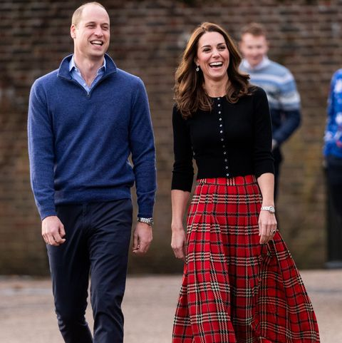 7f2ae6eb0 The Duke & Duchess Of Cambridge Host Christmas Party For Families Of  Military Personnel Deployed In