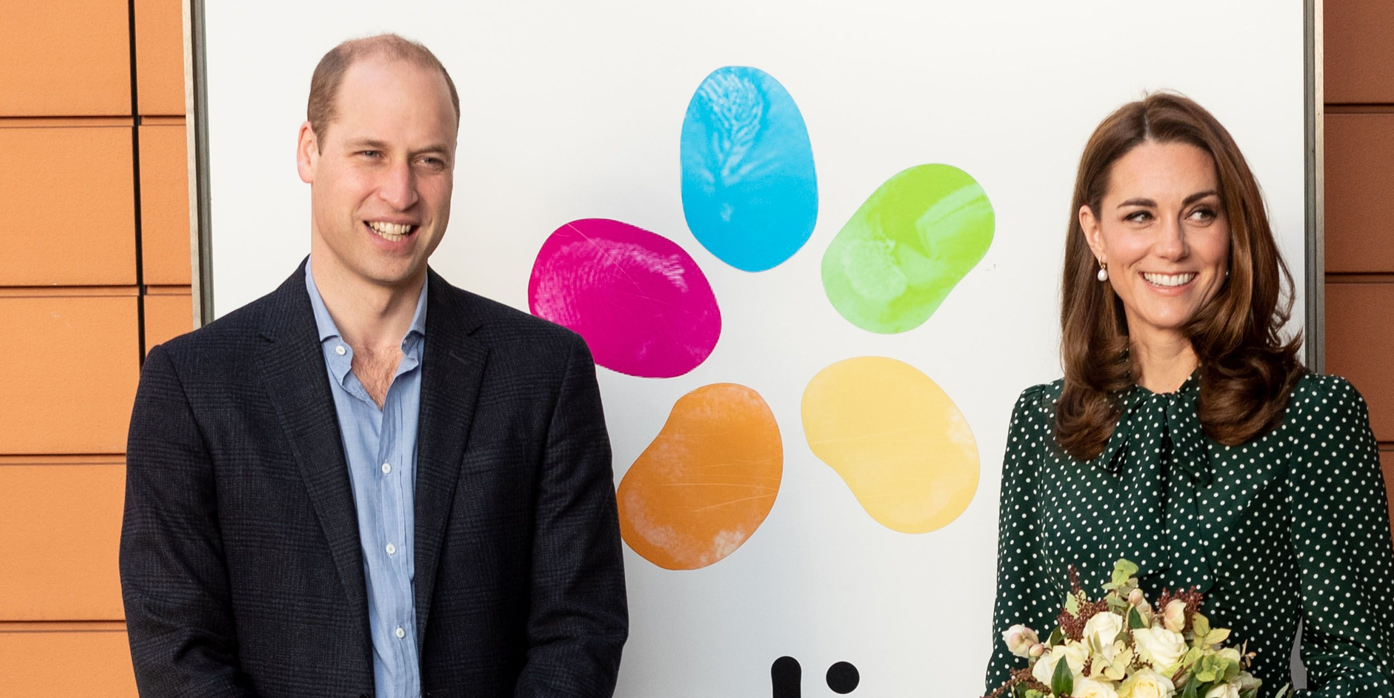 The Duke & Duchess Of Cambridge Visit Evelina London And The Passage