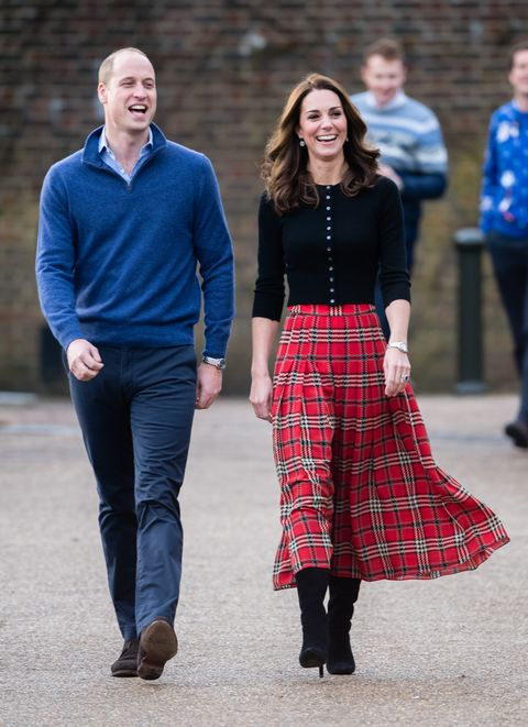 7f8fba944f The Duke & Duchess Of Cambridge Host Christmas Party For Families Of  Military Personnel Deployed In