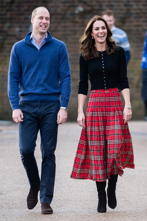 ee546bc0d624 The Duke & Duchess Of Cambridge Host Christmas Party For Families Of  Military Personnel Deployed In