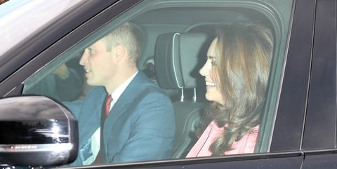 The British Royal Family Arrive At Buckingham Palace For Christmas Lunch